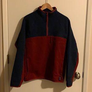 J.Crew half-zip pullover Polartec sweater fleece